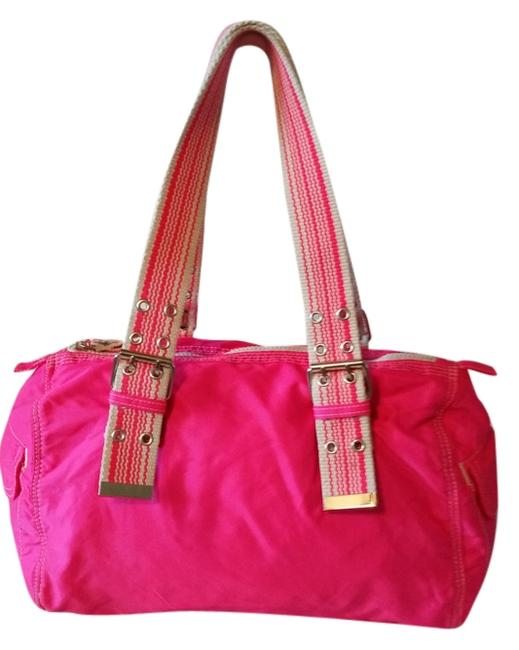 Item - Pink Nylon Satchel