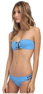 Proenza Schouler Proenza Schouler bandeau top with brief bottom bikini set sky blue