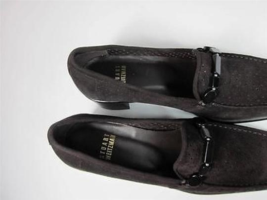 Stuart Weitzman Loafers Leather Brown Flats
