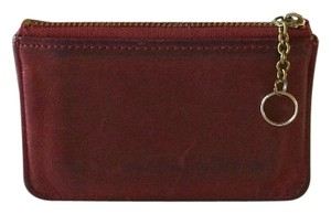 Coach Vintage Red Coach Leather Wallet
