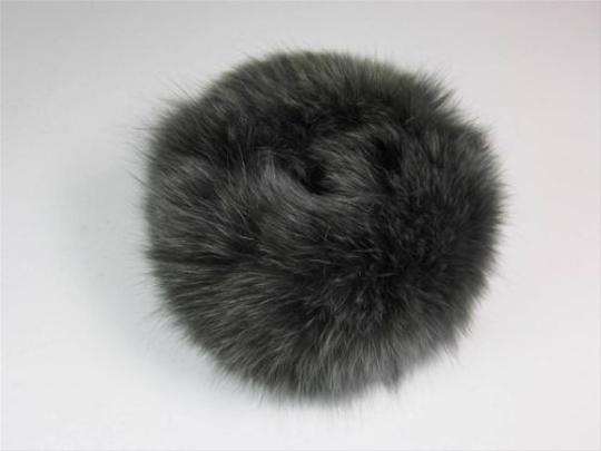 Other Geniune - Fox Fur 3 pc. Scarf & Cuffs Pewter