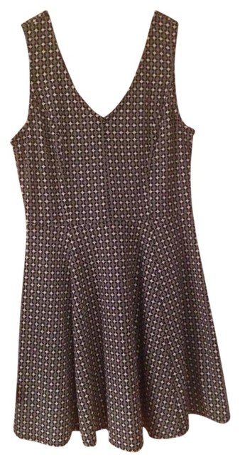 Three Hearts short dress Black & White on Tradesy