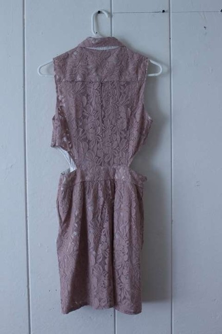 Lush short dress Blush Lace on Tradesy
