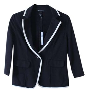 Logix Black/White Blazer