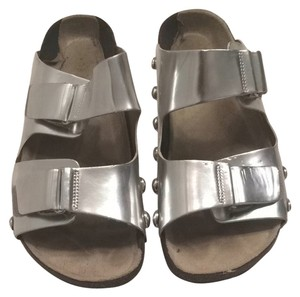 2eea6246416 Silver Sam   Libby Sandals - Up to 90% off at Tradesy