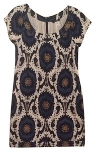 J.Crew short dress Blue Multi on Tradesy