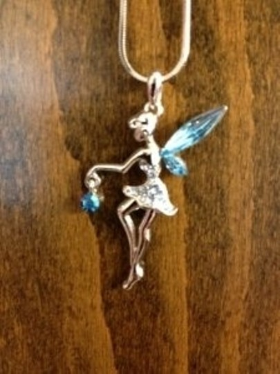 Disney Silver Tinkerbell Necklace
