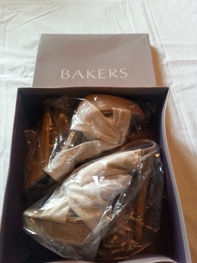 Bakers Stiletto Sexy Stylish Semi-formal Natural Creme Sandals