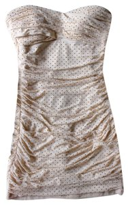 bebe short dress Gold Studded on Tradesy