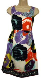 Tahari short dress Multi-Color Sleeveless A-line on Tradesy