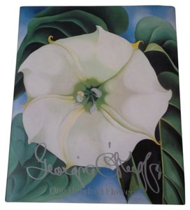 Georgia O'keefe Georgia O'Keefe One Hundred Flowers Large Illustrated Book ~ Beautiful!