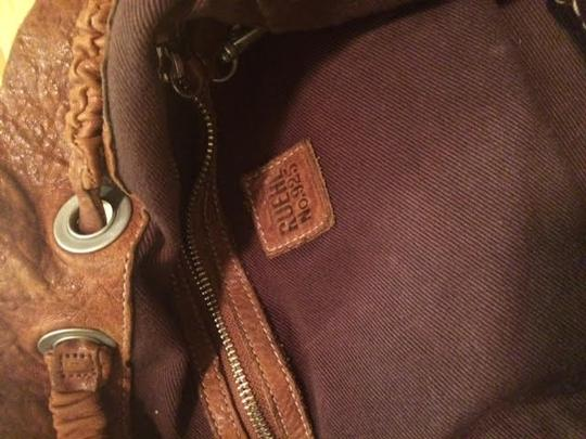 Ruehl No.925 Leather Boho Tote in Brown