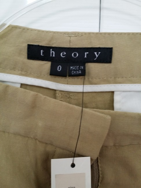 Theory Skinny Pants Khaki