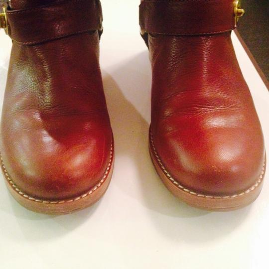 Coach Whiskey Brown Boots