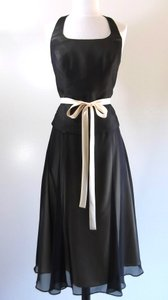 Alfred Angelo Black / Butter Style Dress