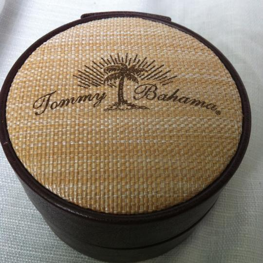 Tommy Bahama Tommy Bahama Men's Cubanito Square Case Leather Band TB1209