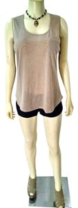 Crosby Size Large New Top Beige