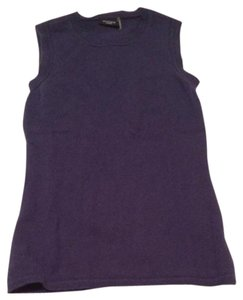 Magaschoni Cashmere Top Blue