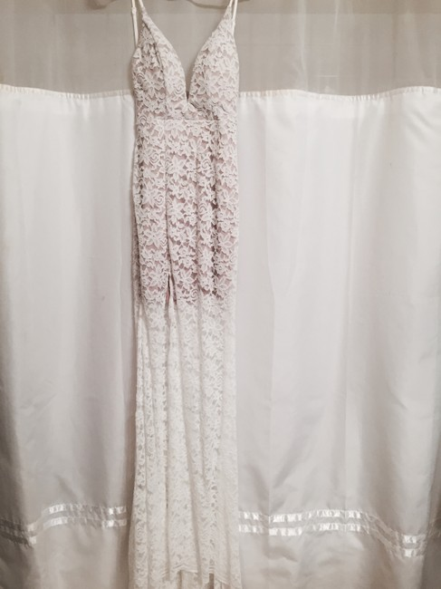 Peppermayo Wedding Lace Long Split Sexy Dress