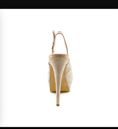 Bling bling nude pumps Pumps