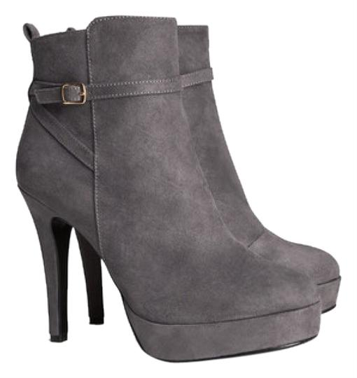 Grey ankle boots Gray Pumps