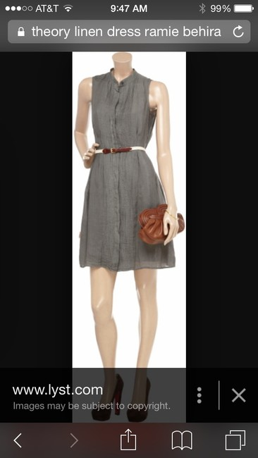 Theory short dress Blush on Tradesy