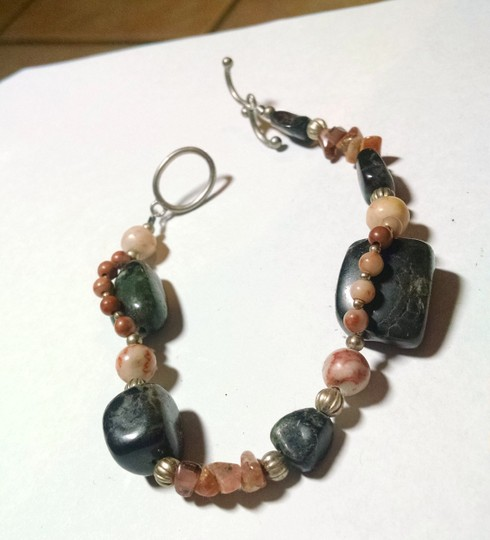 Other New Handmade Jasper Gemstone Bracelet J1001