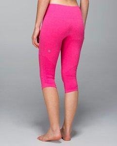 9874849075 Lululemon Lulu Seamless Ebb And Flow Bright Running Run Exercise Work Out  Workout Spin Class Spin