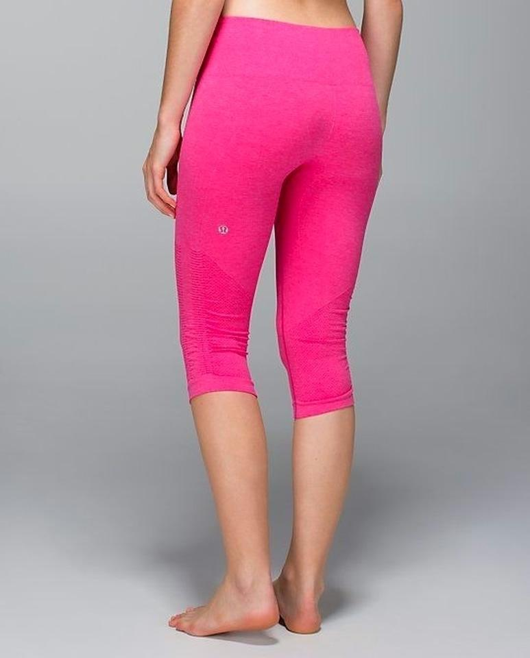 04d181b63716c3 Lululemon Lulu Seamless Ebb And Flow Bright Running Run Exercise Work Out  Workout Spin Class Spin ...