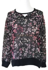 Vince Camuto Sheer Sweater