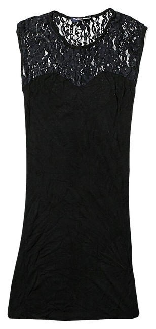Preload https://item2.tradesy.com/images/brandy-melville-black-lace-bodycon-above-knee-night-out-dress-size-4-s-3944116-0-2.jpg?width=400&height=650