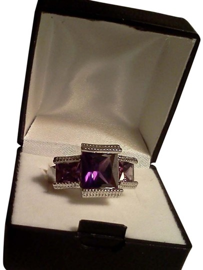 Preload https://item1.tradesy.com/images/silver-purple-925-sterling-cubic-zirconia-size-7-ring-3944350-0-0.jpg?width=440&height=440