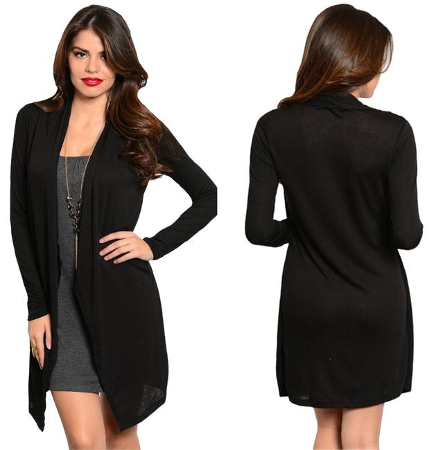 Preload https://img-static.tradesy.com/item/3944551/with-cardigan-plus-necklace-above-knee-short-casual-dress-size-8-m-0-0-650-650.jpg