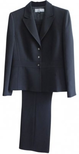 Preload https://item3.tradesy.com/images/elie-tahari-black-pant-suit-size-14-l-39447-0-0.jpg?width=400&height=650