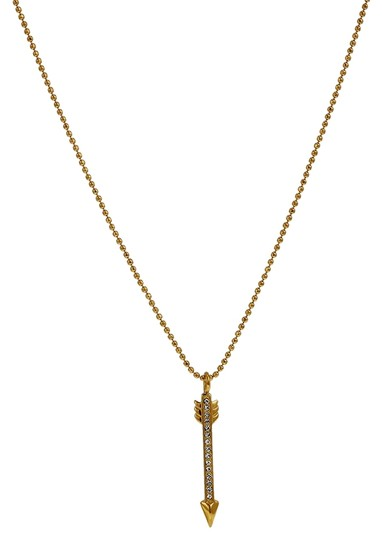 Michael Kors MICHAEL KORS Pave Gold-tone Arrow Pendant Necklace MKJ3948710