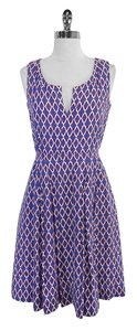 Tory Burch short dress Print Cotton Sleeveless on Tradesy