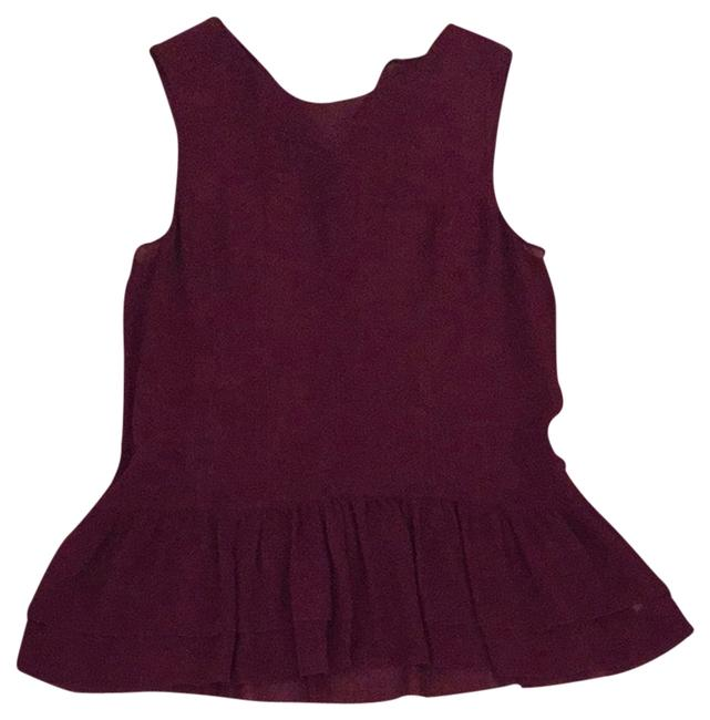 Preload https://item1.tradesy.com/images/theory-tank-top-burgundy-3946135-0-0.jpg?width=400&height=650