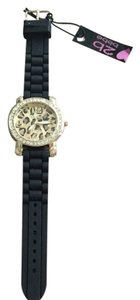 2b bebe Leopard Big Face Watch