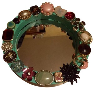Other Jeweled Mirror Hand Crafted