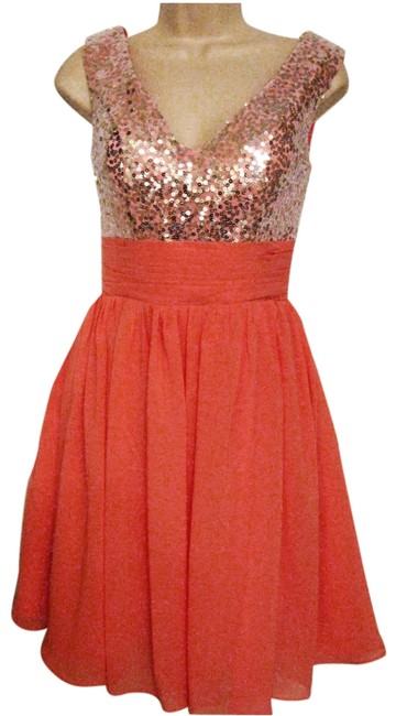 Preload https://item5.tradesy.com/images/pale-coral-mid-length-cocktail-dress-size-4-s-3946624-0-0.jpg?width=400&height=650