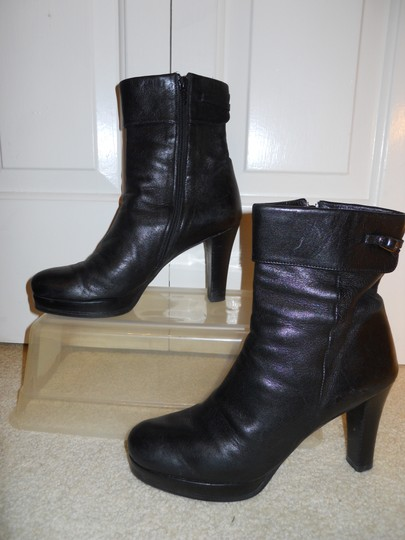 Other Leather black Boots