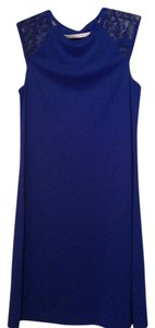 Susana Monaco short dress Royal Blue on Tradesy