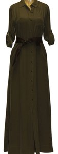 OLIVE GREEN Maxi Dress by Trovata