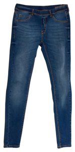 Mango Skinny Jeans-Light Wash