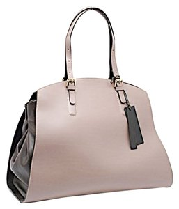 Gianni Chiarini Satchel in Taupe & Black