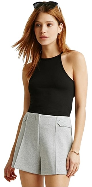 Forever 21 Heathered Knit 21 Brand New Gray Shorts Heather Gray