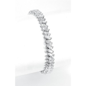 Mariell Wholesale Bridal Tennis Bracelet In Marquis Cz 2066b