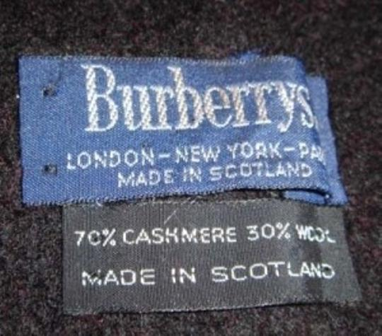 Burberry Burberry Cashmere/Wool Blend Scarf
