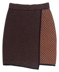 Rag & Bone Metallic Skirt Copper