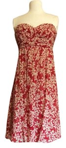 Donna Ricco Silk Size 4-6 Short Flowing Nordstrom Dress